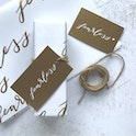 Fearless Christian Gift Wrapping Set | Christian Lettering Company | Cheerfully Given