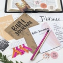 Glory Bible Prayer Journal Starter Kit - Christian Lettering Company