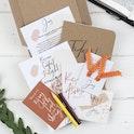 Joy Mini Journal Set - Christian Lettering Company - opened box