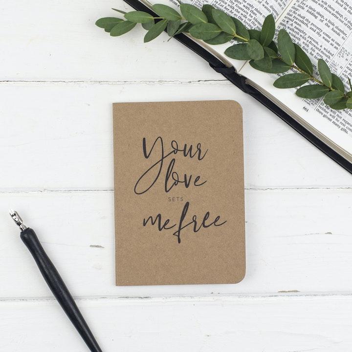 Love Mini Prayer Journal - Christian Lettering Company