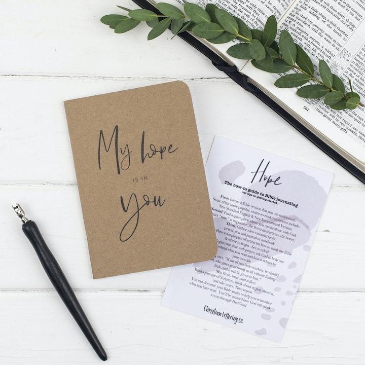 Mini Prayer Journal - Hope - Christian Lettering Company