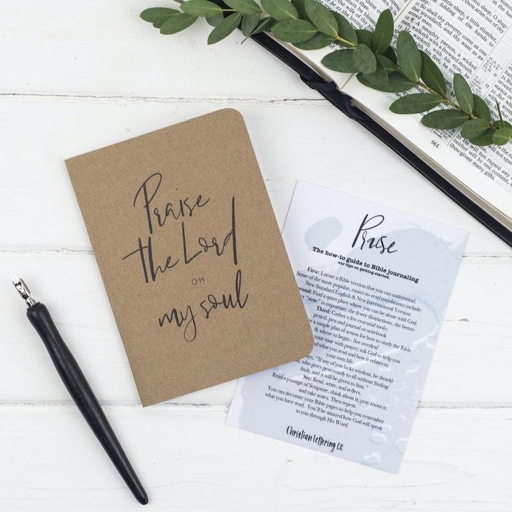 Mini Prayer Journal - Praise - Christian Lettering Company