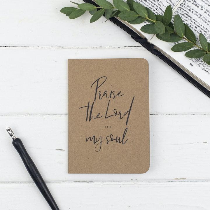 Praise Mini Prayer Journal - Psalm 103:1 - Christian Lettering Company