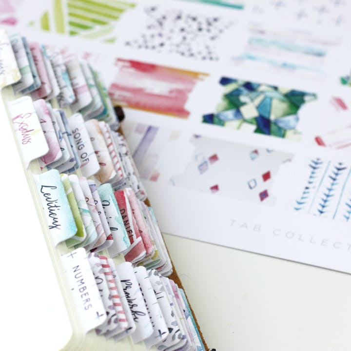 Bible Journaling - Bible Tabs | Doodling Faith | Cheerfully Given