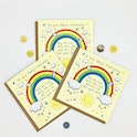 Baby Rainbow Church Occasion Cards - Numbers 6:24-25 - Forget-Me-Not Christian Cards