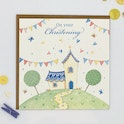 Church Christening Card - James 1:17 - Forget-Me-Not Christian Cards