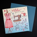 Colossians 3 Card - Clothe Yourself - Forget-Me-Not Christian Cards