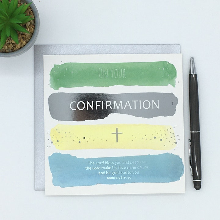 Confirmation Cards | Forget-Me-Not Christian Cards | Cheerfully Given