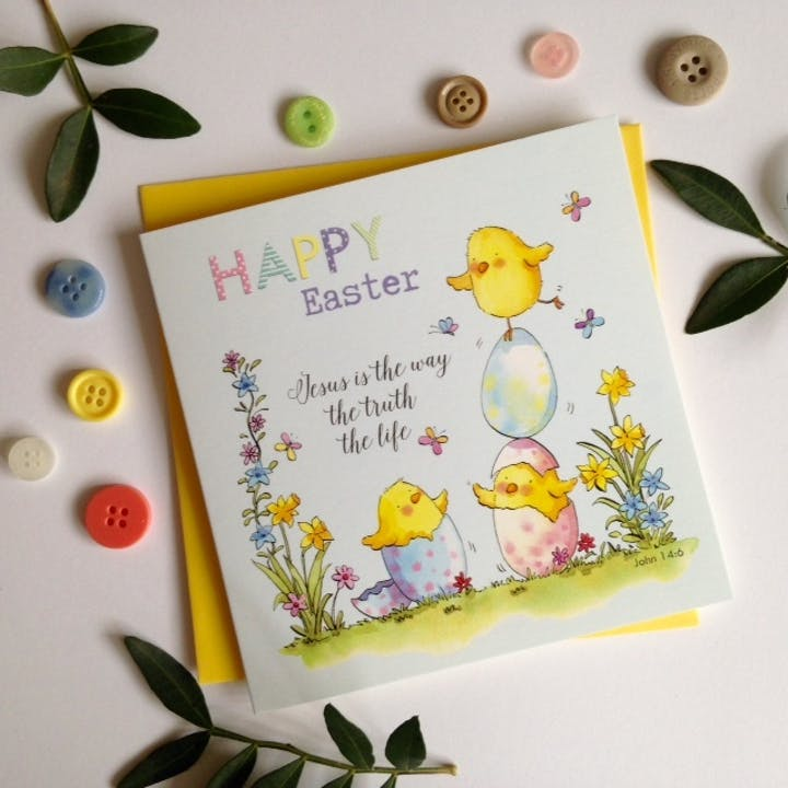'Jesus is the way' Easter Cards - John 14:6 - Forget-Me-Not Christian Cards