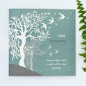 Swallows Christian Sympathy Cards - John 14:27 - Forget-Me-Not Christian Cards | Cheerfully Given