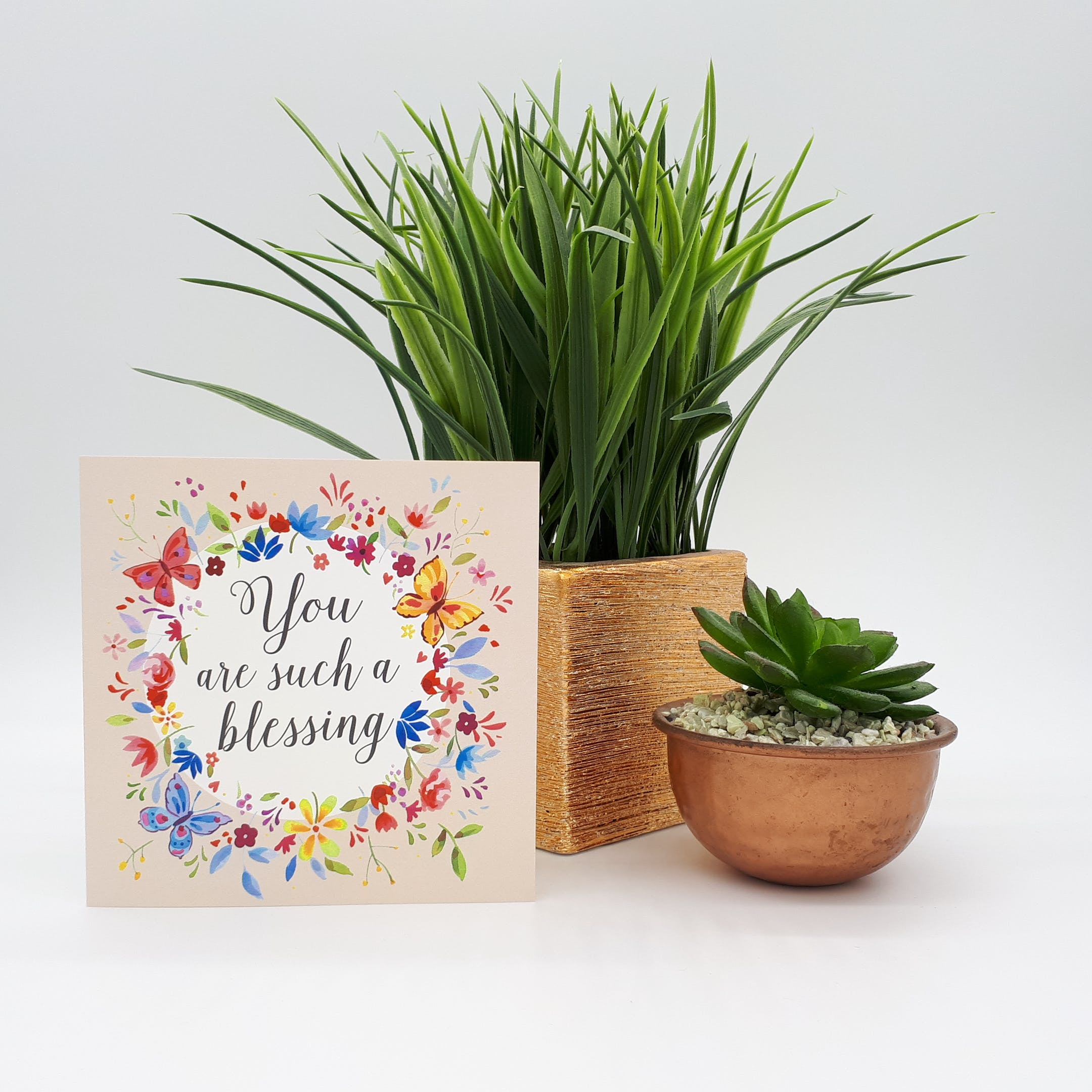 'You Are Such a Blessing' Card - Numbers 6:24 - Forget-Me-Not Christian Cards