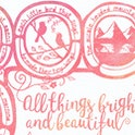 All Things Bright And Beautiful Hymn - Frog and Gnome Print