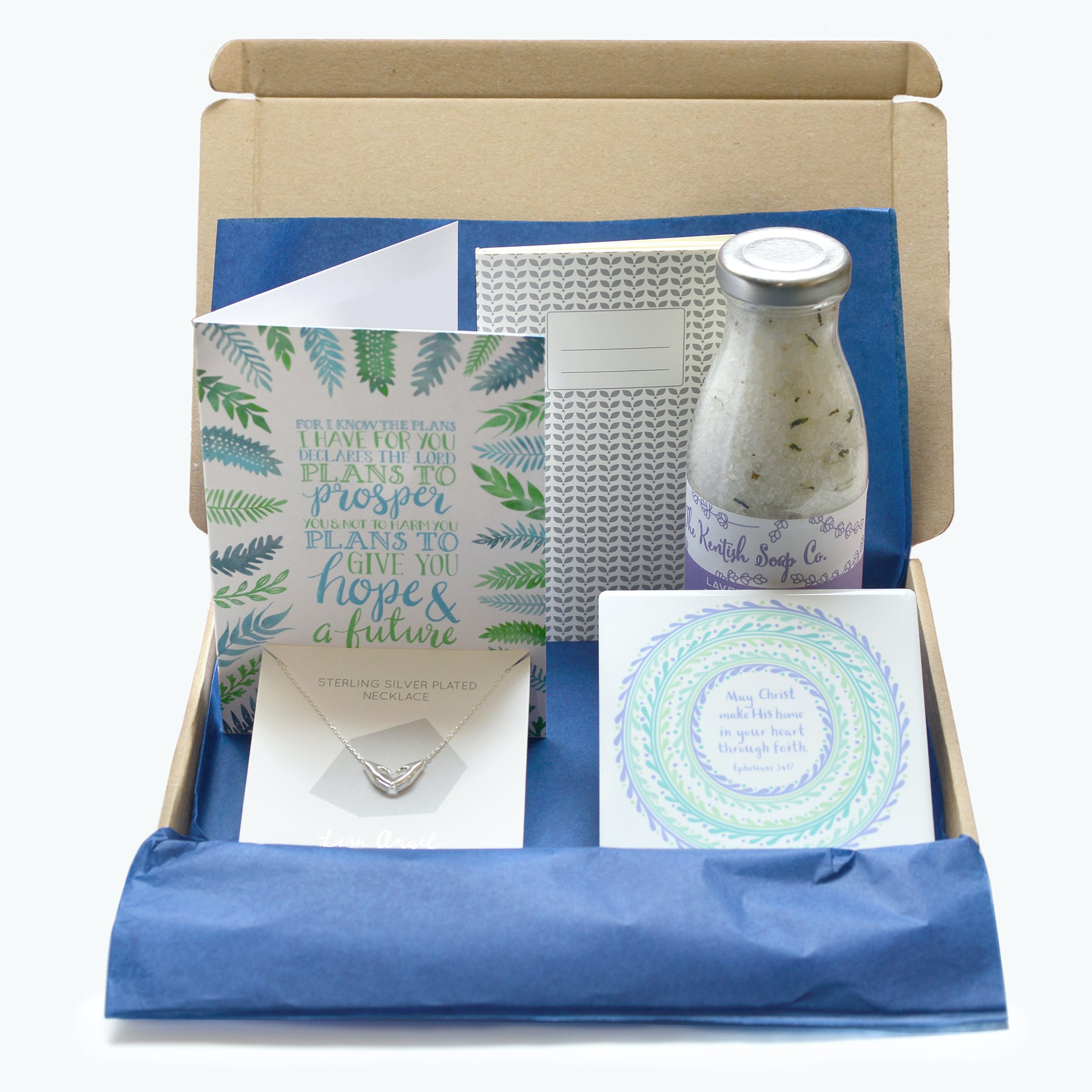 Christ make his home Christian Gift Boxes by Frog and Gnome @ Cheerfully Given