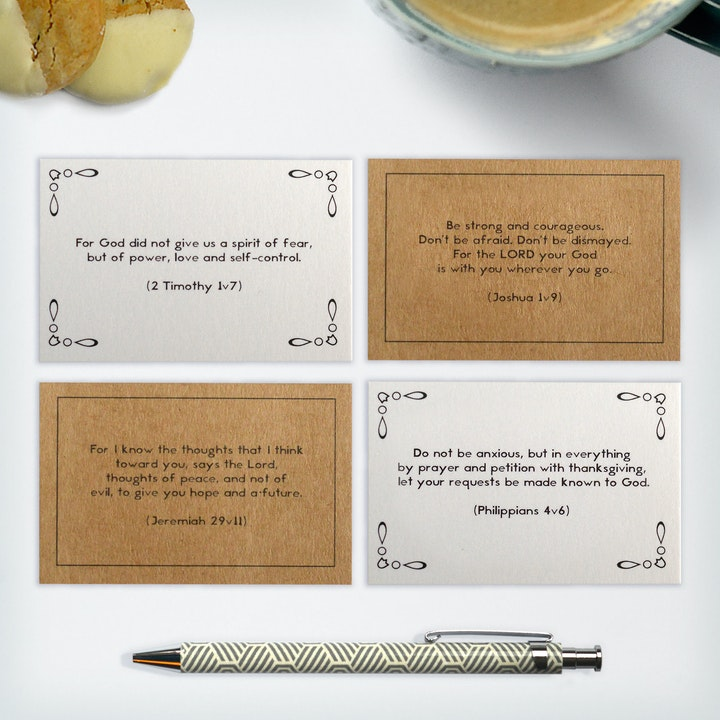 Memory Verse Cards - Little Encouragements - Frog and Gnome