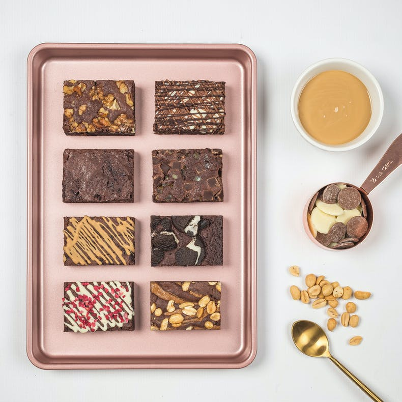 Selection of Gourmet Brownie Ltd Large selection box at Cheerfully Given