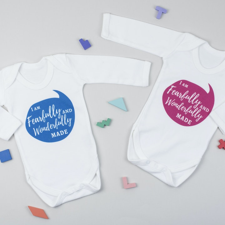 Christian Baby Vests | Gospel-Centred Parenting | Cheerfully Given | Christian New Baby Gifts