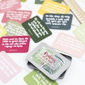 15 Hand lettered scripture cards with tin - Hope and Ginger