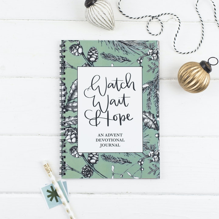 Advent Devotional | Christian Journals UK | Hope and Ginger | Cheerfully Given - Christian Christmas