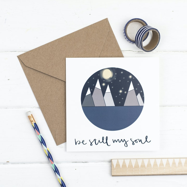 Be Still My Soul Card - Hope and Ginger