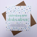 Mark 10:14 Square Dedication Card - Hope and Ginger