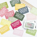 Psalms in a Tin - 15 hand lettered scripture cards - Hope and Ginger