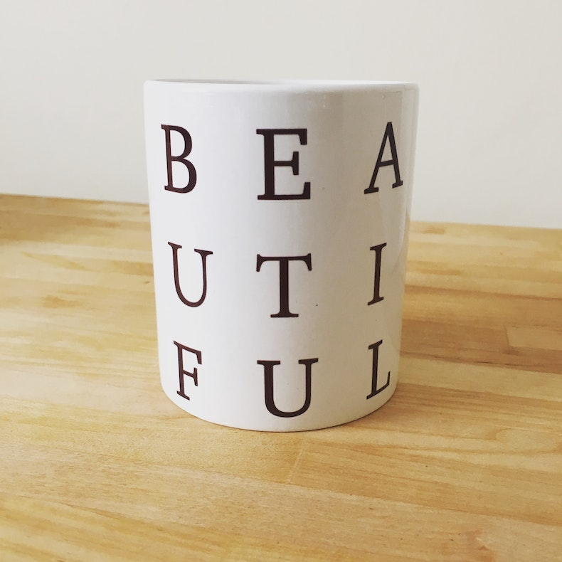 Beautiful Christian Mug | Heaven Meets Earth | Cheerfully Given