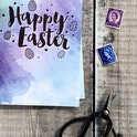 A6 Happy Easter Card - Izzy and Pop