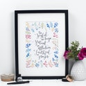 Be Joyful in Hope Bible Verse Print - Izzy and Pop