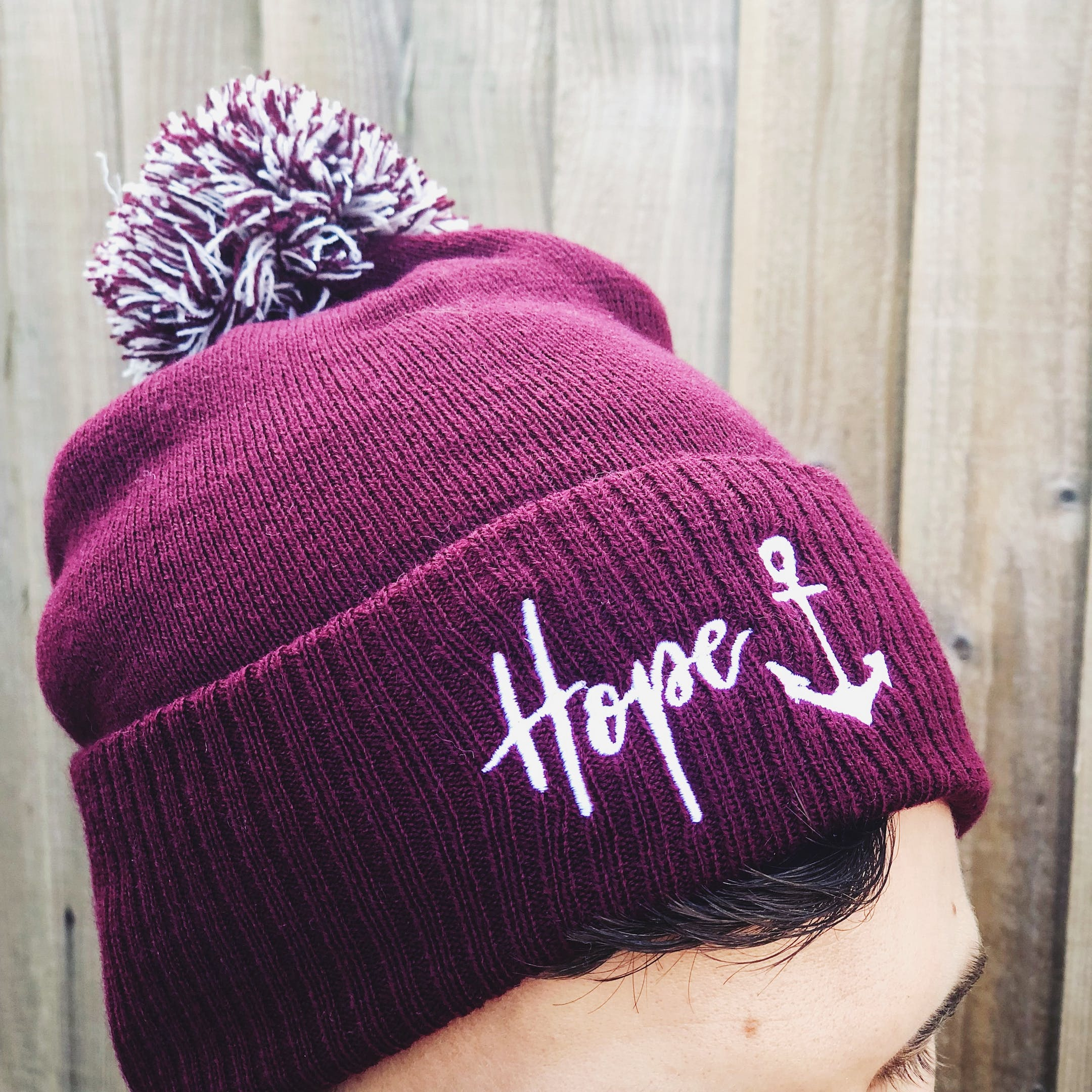 Hope Anchor Beanie Hat - Izzy and Pop