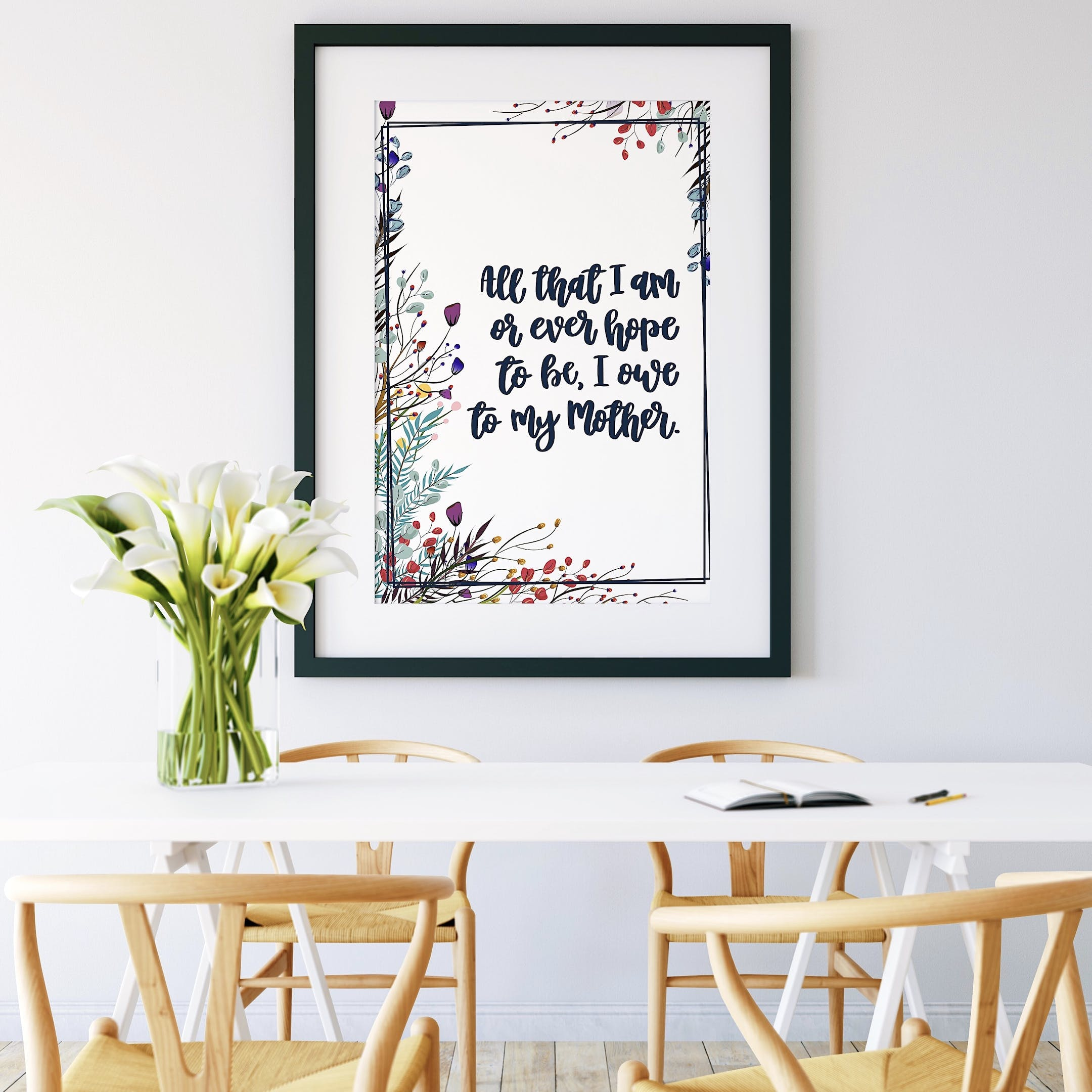 Izzy and Pop Floral Print - All That I Am