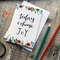 Izzy and Pop Today I Choose Joy Encouragement Card