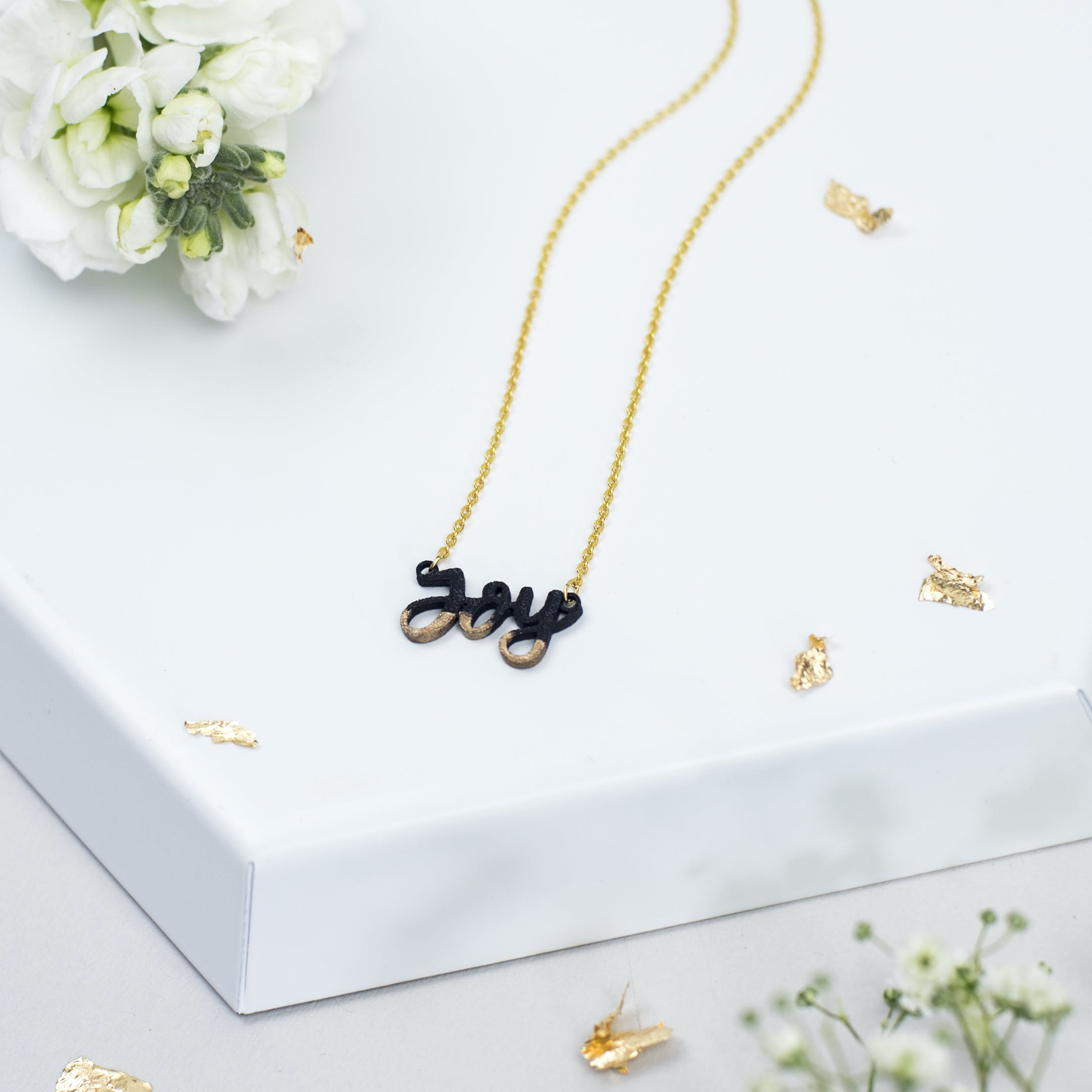 Joy Gold-Dipped Necklace - Bloom Jewellery - Izzy and Pop
