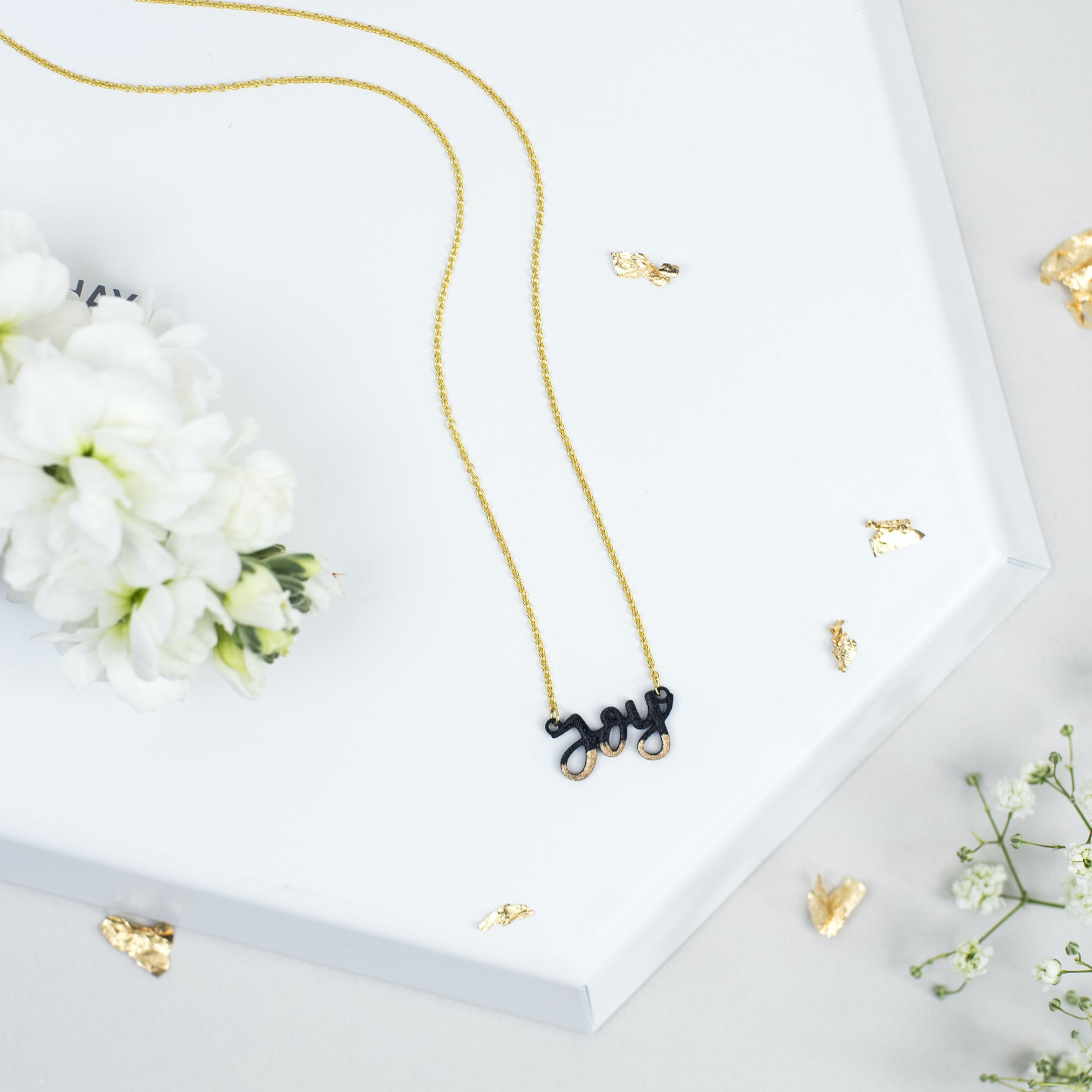 Joy Necklace - Gold-Dipped - Izzy and Pop - Bloom Jewellery