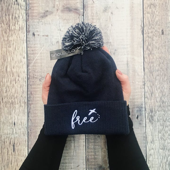 Navy Blue Beanie - Izzy and Pop