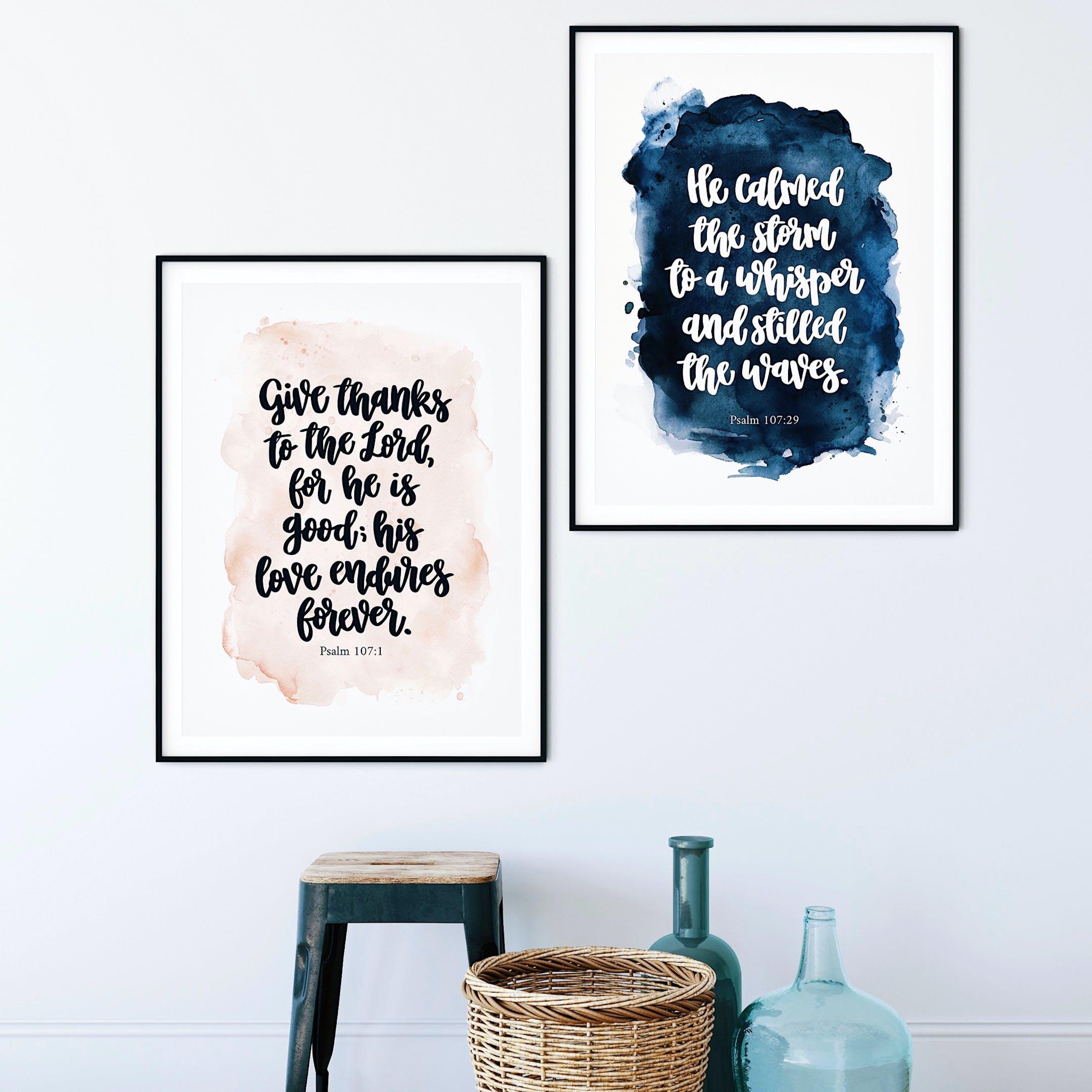Psalm 107 Print Set - Izzy & Pop