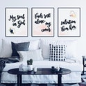 Psalm 62:1 Print - Set of 3 - Izzy & Pop