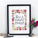 There Is Wonderful Joy Ahead Print - 1 Peter 1:6 - Izzy and Pop