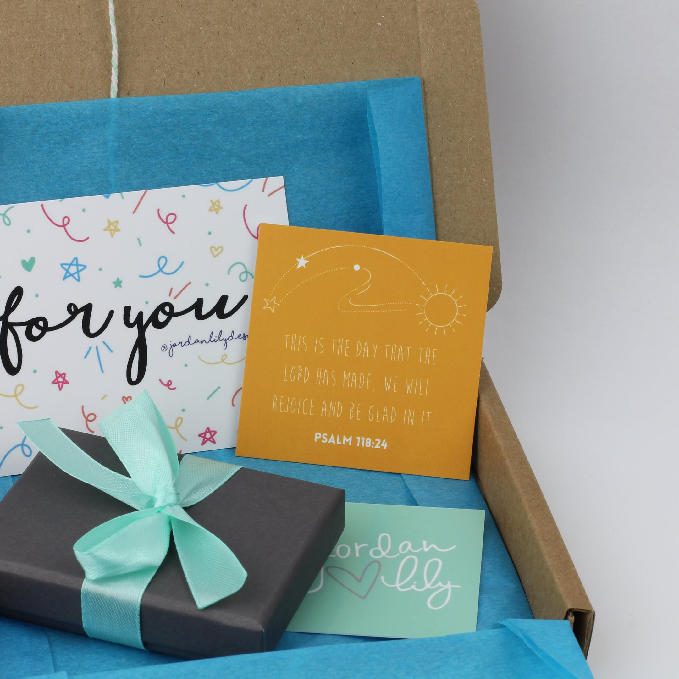 Jordan Lily Designs Christian Gift Box at Cheerfully Given