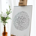 Philippians 2:15-16 Scripture Print - Calligraphy Shine Like Stars - Kate Hanks Art