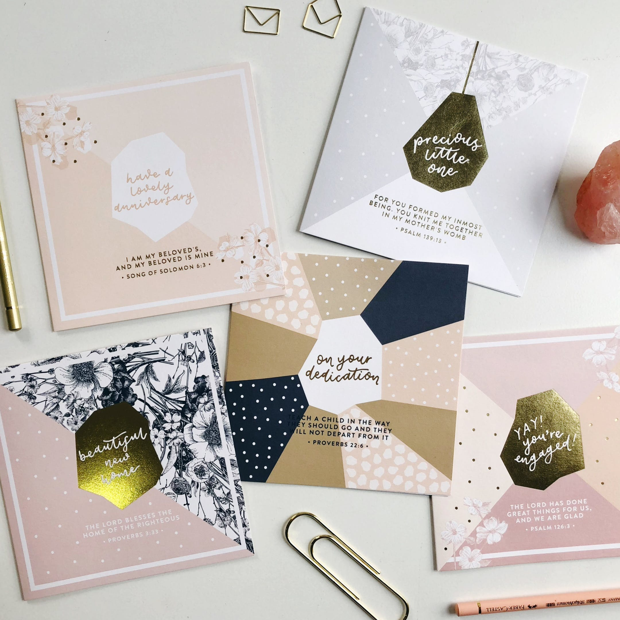 More Than Gold Christian Greeting Cards | Cheerfully Given - Christian Cards UK