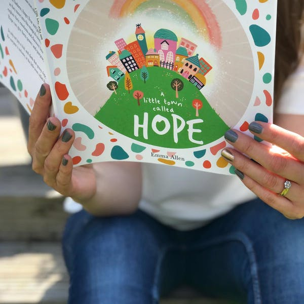 A Little Town Called Hope Christian Children's Book by Ooh I Like That Design at Cheerfully Given