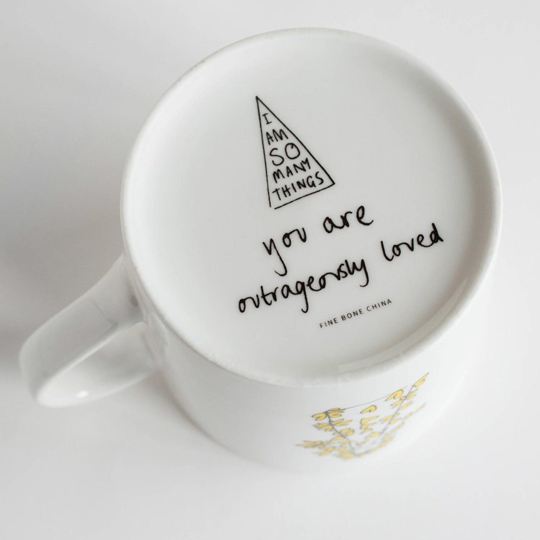 Base of I Am Outrageously Loved Mug - SMT