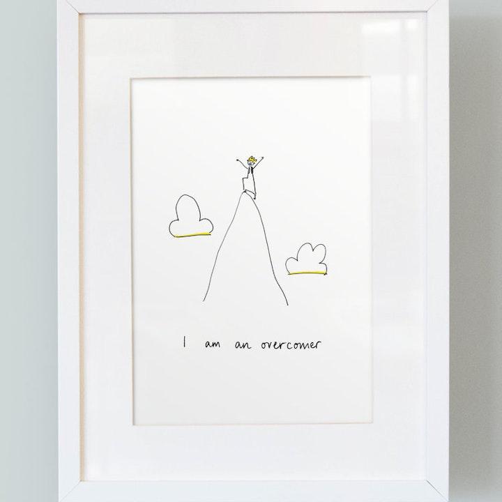 I Am An Overcomer - Boys Print - SMT