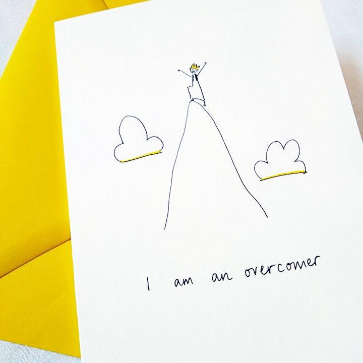 'I Am God's Very Good Idea' Girls Greetings Card - SMT