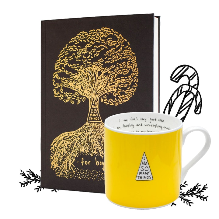 'I Am So Many Things' Boy's Book and Yellow Mug - Thea Muir