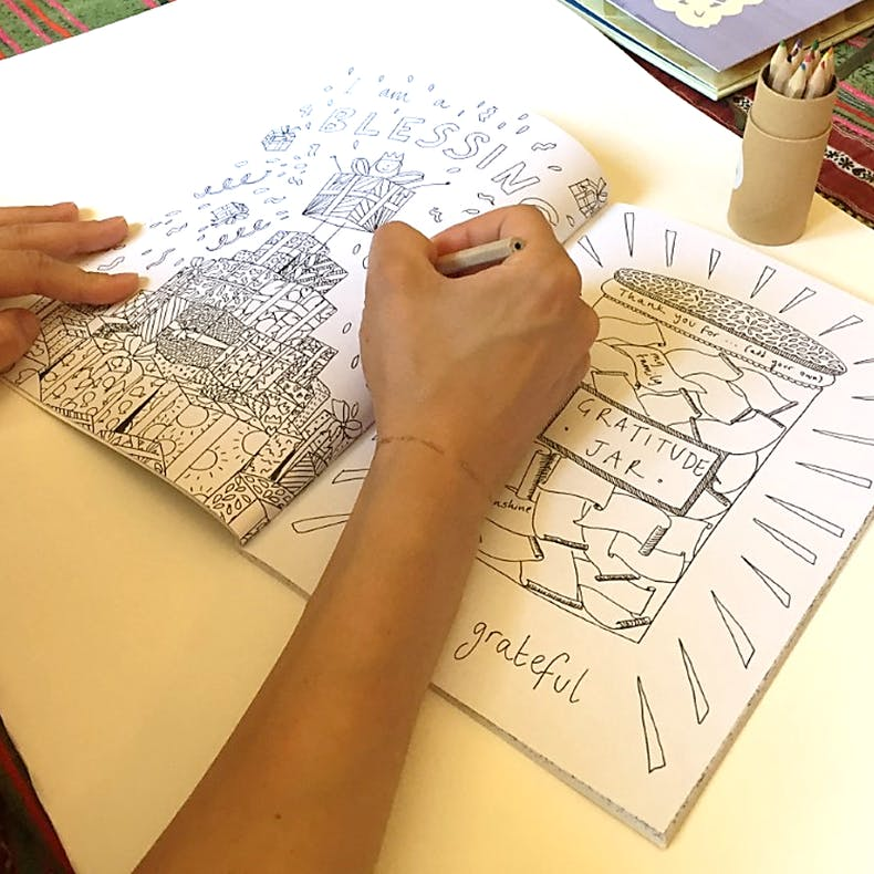 'I Am So Many Things' Colouring Book - Thea Muir