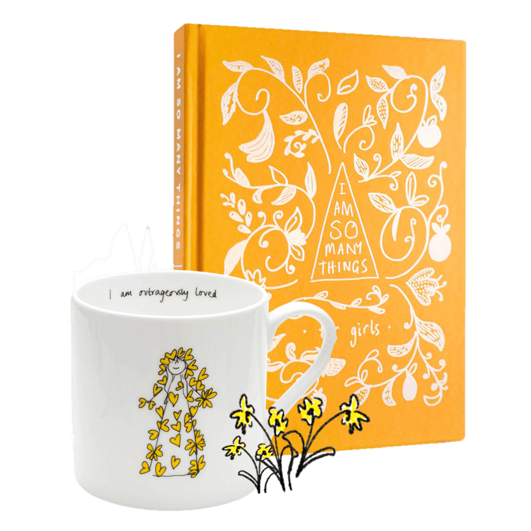 'I Am So Many Things' Girl's Book and Outrageously Loved Mug - Thea Muir