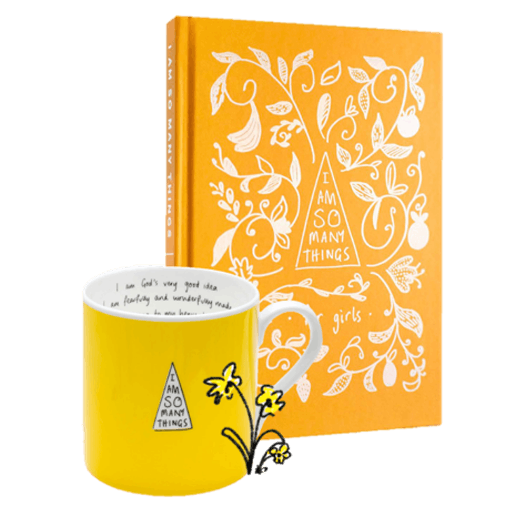 'I Am So Many Things' Girl's Book and Yellow Mug - Thea Muir