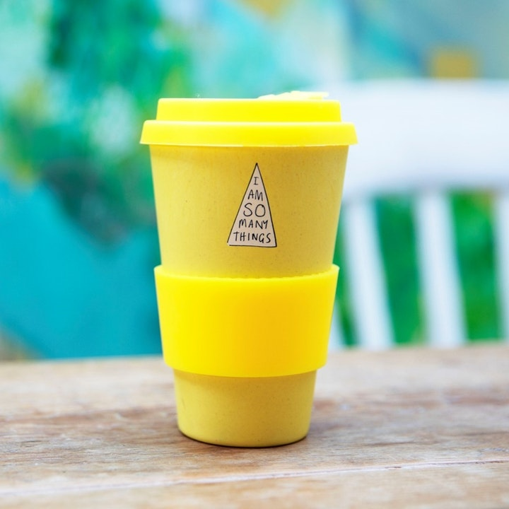 I Am So Many Things Reusable Bamboo Cup - Thea Muir