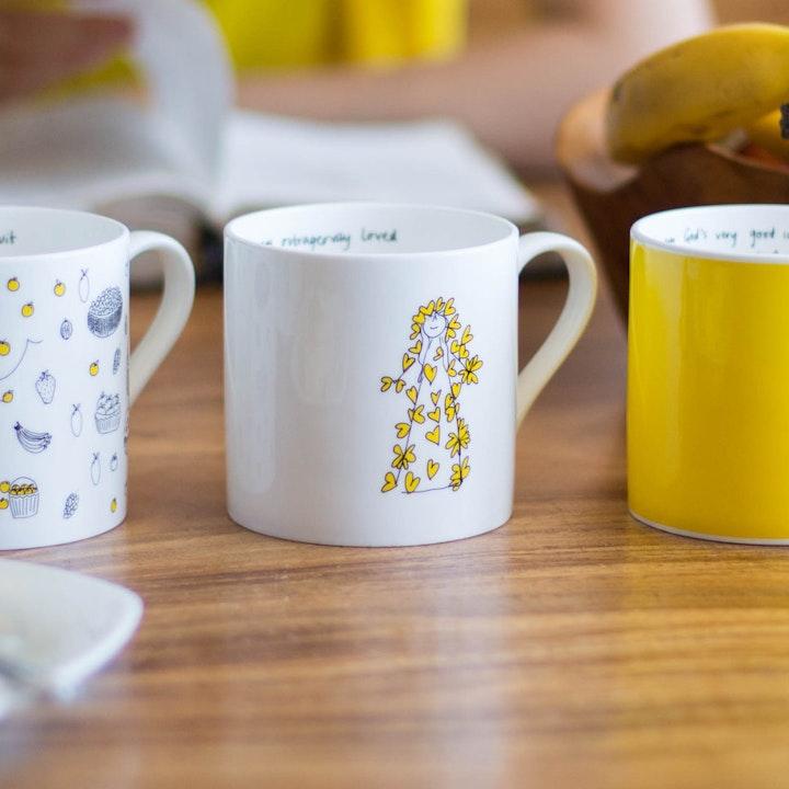 I Am So Many Things - Set of 5 Mugs - Cheerfully Given - Christian Homeware UK